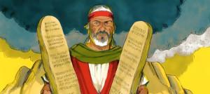 Die 10 Gebote; Bild: Free Bible Images, Lizenz: BY-SA/3.0