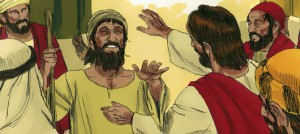 Jesus vertreibt böse Geister; Bild: Free Bible Images, Lizenz: BY-SA/3.0 https://creativecommons.org/licenses/by-sa/3.0/