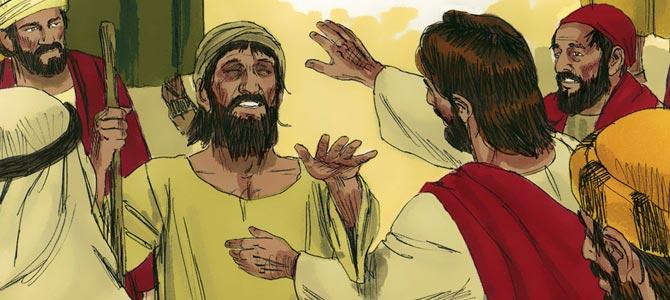 Jesus vertreibt böse Geister