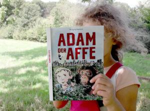 Adam der Affe - Kinderroman von Wolfgang Wambach